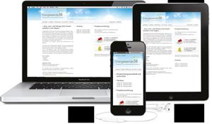 homepage erstellen für ipad und iphone